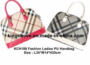 Elegant and Fashion PU Ladies Handbag (KCH188) pictures & photos