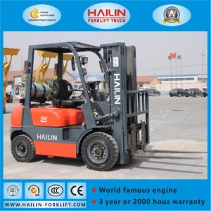 LPG Forklift Truck (Nissan engine, 1.5Ton) pictures & photos
