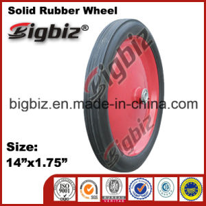 Wholesale Special Quality 13 Inch Solid Rubber Wheels pictures & photos