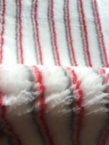 Red and Brown Polyester Paint Roller Fabric pictures & photos