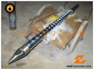 HDPE Blown Moulding Extruder Single Screw Barrel pictures & photos
