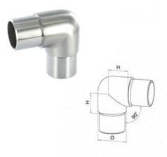 90 Degree Flush Joiner / Stainless Steel Elbow / Handrail Fitting / Balustrade Fitting pictures & photos