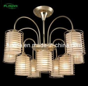 Home Decoration Antique Iron Chandelier Lamp pictures & photos