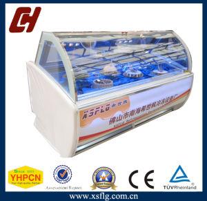 Fine Workmanship Scoop Ice Cream Display Freezer pictures & photos
