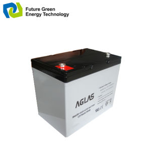 12V 33ah Deep Cycle UPS Solar Power Battery pictures & photos