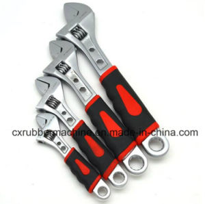 "6""8""10""12"" Universal Quick Plastic Handle Adjustable Wrench/Ajustable Spanner pictures & photos"