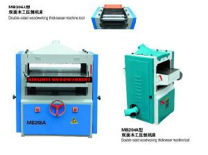 Cheap Price Double Side Woodworking Planer Thicknesser pictures & photos