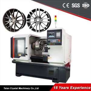 CNC Lathe Rim Polishing Machine for Repair Car Wheel (AWR28H) pictures & photos