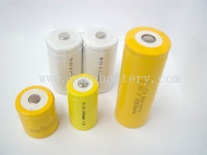 1.2V 4/5AAA 7/5AAA N 1/3AA 1/3A 2/5AA NiCd Single Battery pictures & photos