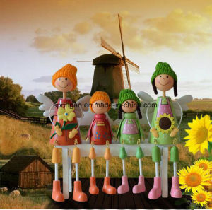 4 PCS Rural Style Puppet Decoration 2017 pictures & photos