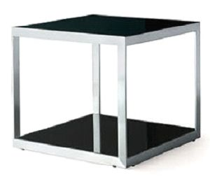 Chrome Steel End Side Coffee Table Stool pictures & photos