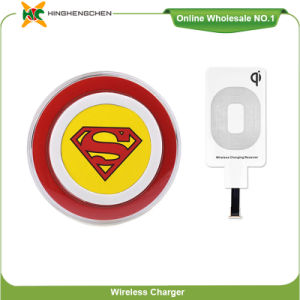Popular Superman Cartoon Shape Mobile Wireless Charger S6 pictures & photos