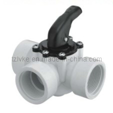 PVC Three Way Ball Valve (GT291) pictures & photos