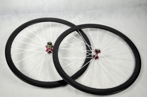 Superlight 700c 38mm Clincher Carbon Bicycle Wheels (FRX-W38C)