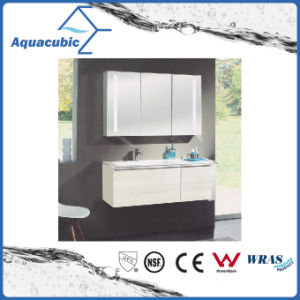 Wall-Mounted Vanity Combo with Mirror Cabinet in White (ACF8930) pictures & photos