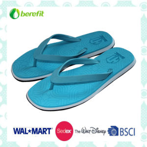 PVC Upper and EVA Sole, Confortable Wear Feeling, Men′s Slippers pictures & photos