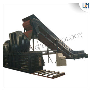 Semi-Automatic Waste Paper Cardboard Plastic Baling Recycling Machines pictures & photos