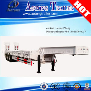 Hot Sale 3 Axles Lowbed Semi Trailer pictures & photos