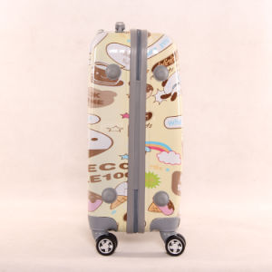Cartoon Image PC Universal Wheel Trunk Multi Pattern 20/24 Luggage Suitcase