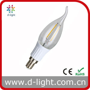2W 240lm E14 Plastic Long Tailed Filament LED Light