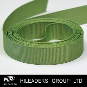 Hgr012 Solid Color Grosgrain Ribbon for Decoration