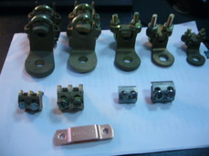 Brass Cable Connector Ground Wire Clamp Copper Cable Clamp pictures & photos
