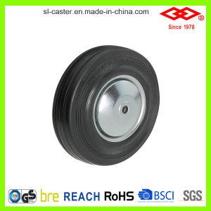 200mm Swivel Plate Black Rubber European Type Caster Wheel (P102-11D200X50) pictures & photos
