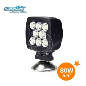 """IP67 Waterproof 5.5 """" 80W off Road Truck Tractors LED Work Light pictures & photos"""