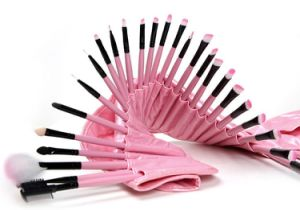 32 PCS/Set Pink Bag Professional Makeup Brushes Set Manufacturers China pictures & photos