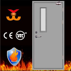 90-120mins Steel Fire Proof Door with BS Certificate pictures & photos