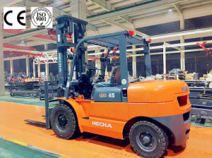 Hecha Forklift 4.5 Ton Diesel Forklift Isuzu 6bg1 on Sale pictures & photos