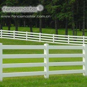Horse Fencing PVC Fence pictures & photos