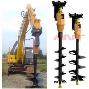 Excavator Augers/Excavator Attachments Hydraulic Earth Drill/Auger Stem/Excavator Drill/Auger Drill