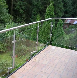 Toughened Balustrade Glass