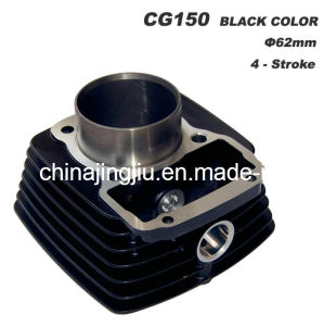 Motorcycle Cylinder CG150 Black pictures & photos