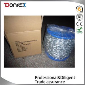 DIN763 Long Link Chain with Electro Galvanized Surface pictures & photos