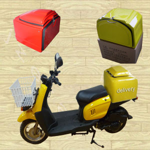 Motorcycle Scooter Food Delivery Pizza Box Thermal Insulation (PB-01) pictures & photos