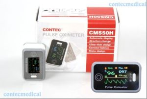 Finger Pulse Oximeter Blood Oxygen SpO2 Monitor with CE Certificate (CMS50H) pictures & photos