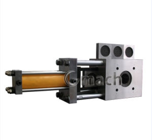Four Working Position Plate Type Continuous Screen Changer for Plastic Extrusion Machine pictures & photos