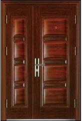 Competitive Luxury Steel Door (WX-LS-298) pictures & photos