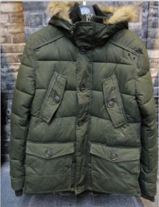 Arm Green Loose Lesure Men Fashion Korea Style Fashion Jacket pictures & photos
