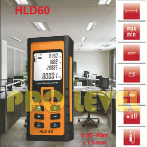 80m Profession Accurate Laser Distance Meter (HLD60) pictures & photos