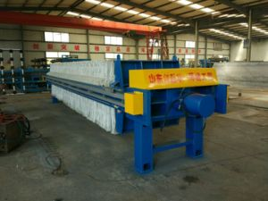 Effluent Plate and Frame Filter Press Machine for Municipal Sludge pictures & photos