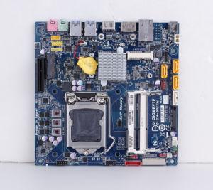 Min Itx Mother Board Supportsintel Gen 2 / 3 Core I7/I5/I3 LGA1155 Socket CPU pictures & photos