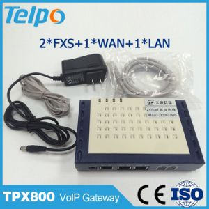 Made in China High Quality Support Local Switch SIP FXS ATA VoIP 2 Pots