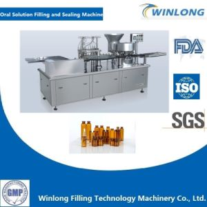 Oral Solution Filling Machine and Screw Capping Machine pictures & photos