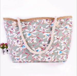 The New Bag Canvas Bag National Wind Ladies Shoulder Bag Trend Ladies Beach Bag pictures & photos