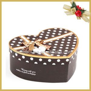 New Style Luxury Christmas Heart Shape Cholocate Gift Box