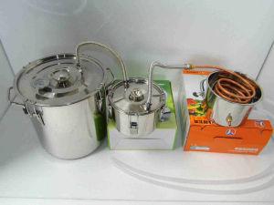 3 Gallon Copper Tube Moonshine Still Ethanol Stainless Water Distiller Boiler with Thumper Keg pictures & photos