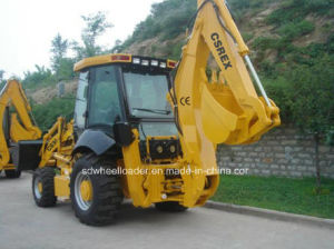 Csrex Compact Backhoe Loader with CE pictures & photos